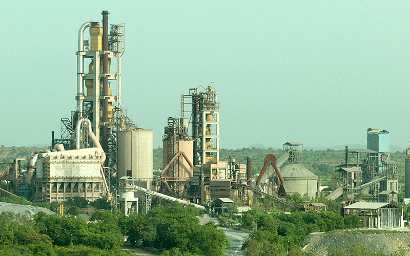 priya cement Large quantities of cements under the brand 'priya cement' and empty bags with  the markings of 'texmo gold,' isi mark and manufacturing by.